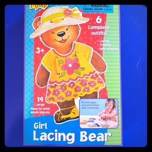 Lacing Bear for Kids +3